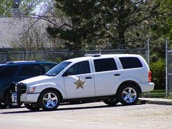 English: A Dodge Durango belonging to the Sher...