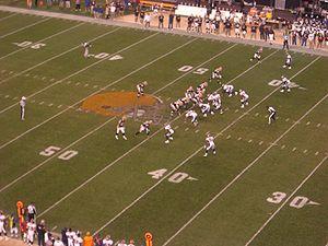 English: Cleveland Browns vs. Denver Broncos, ...