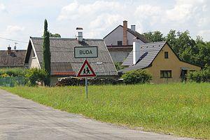 Česky: Buda, Chocnějovice
