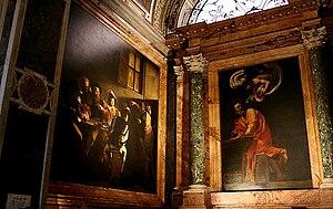Italiano: Chiesa di San Luigi dei Francesi, ca...