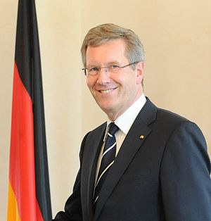 President of Germany Christian Wulff at Berlin