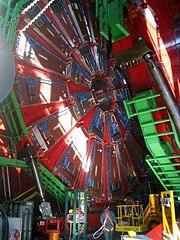 El detector CMS del LHC.