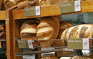 Different types of white bread