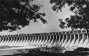 The DneproGES, one of many hydroelectric power...