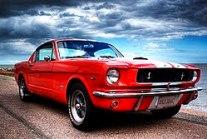 Ford Mustang fastback del 1964½. Manualidades a Raudales.