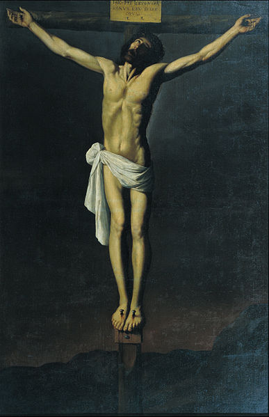 File:Francisco de Zurbarán - Christ Crucified - Google Art Project.jpg