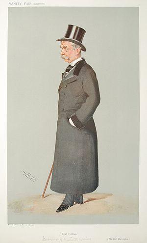 Caricature of Robert Wynn Carrington, Earl Car...