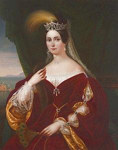 Maria Teresa d'Austria.