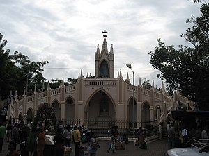 English: Mount Mary's Church in Bandra, Mumbai