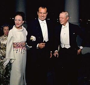 The Duchess of Windsor, President Richard Nixo...