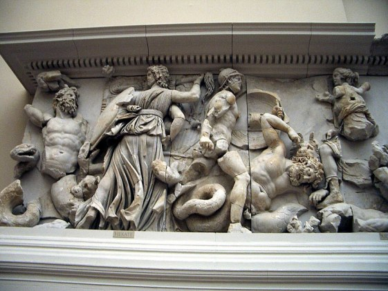 Pergamonmuseum - Antikensammlung - Pergamonaltar 02-03