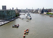 Pool Of London Looking West From The High Level Walkway On Tower Bridge Click On The Picture For A Longer Description View From Thames River