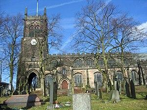 English: Photograph of St Mary's Church, Sandb...