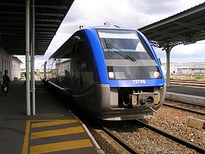 train TER Poitou-Charentes Category:Gare de Cognac