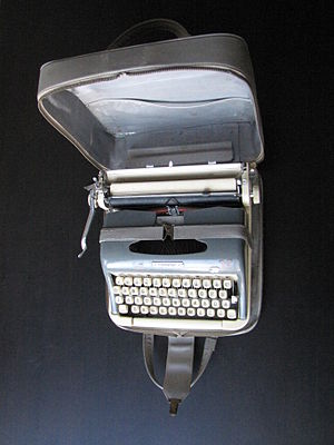 Torpedo typewriter.