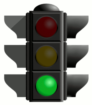 green traffic light
