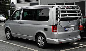 VW California Europe 2.0 TDI (T5, Facelift)