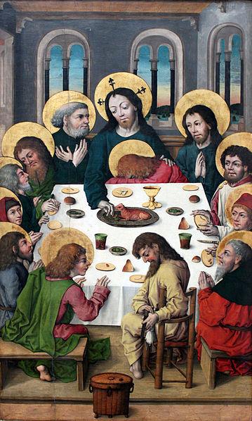 File:1578 Meister des Hausbuchs Das Abendmahl anagoria.JPG