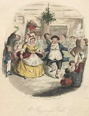 A Christmas Carol (1843) English: Mr. Fezziwig...
