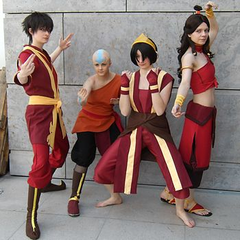 Cosplay at the Leipzig book fair on March, 19t...