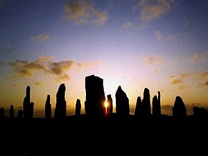English: Callanish Standing Stones - Midsummer...