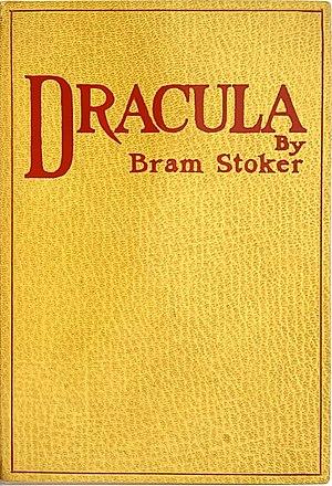 Dracula (first edition cover), Bram Stoker's v...