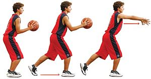 English: basketball Español: baloncesto