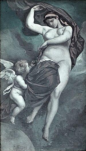 Deutsch: Anselm Feuerbach: Gaea (1875). Decken...