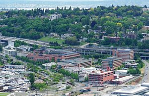 Fred Hutchinson Cancer Research Center as view...
