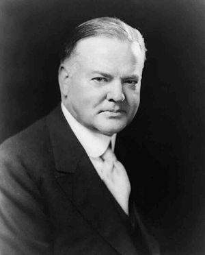 Herbert Hoover, head-and-shoulders portrait, f...