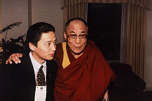 Jamling Tenzing Norgay with Dalai Lama Deutsch...