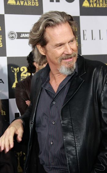 English: Jeff Bridges at the Independent Spiri...