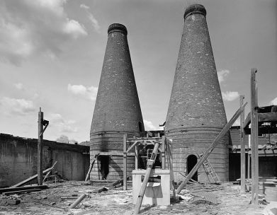 File:Seneca Glass Company Factory ovens.jpg