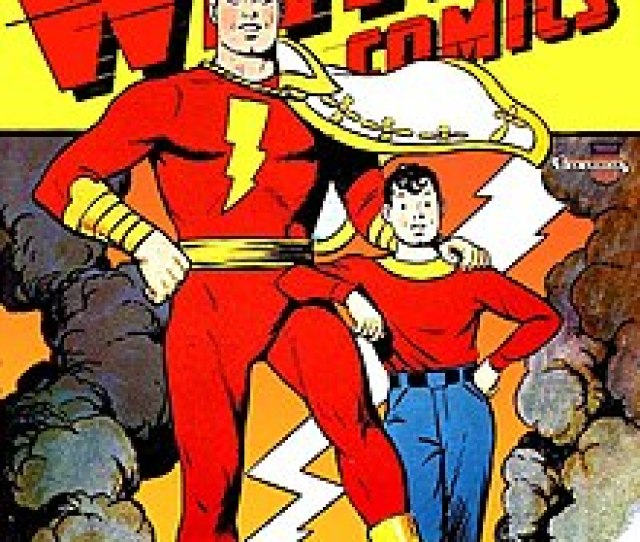 Whiz Comics  Featuring Captain Marvel And His Young Alter Ego Billy Batson Art By C C Beck