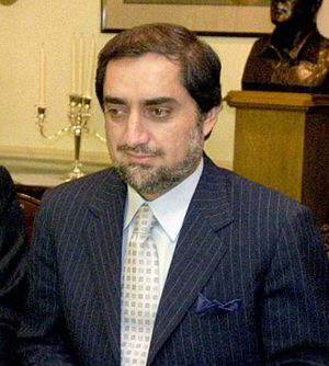 Cropped Image of Afghanistan's Foreign Ministe...