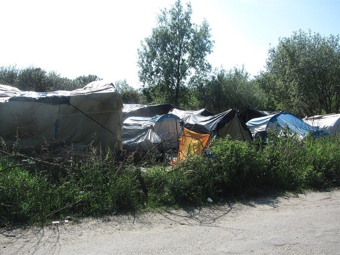 Calais refugee camp 4