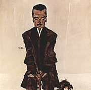 Portrait of Eduard Kosmack by Egon Schiele
