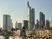 Fráncfort del Main es el centro financiero de Alemania.