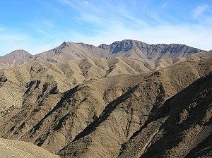 English: High Atlas mountains, Morocco Françai...