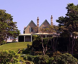 Kirribilli House, in the Sydney suburb of Kirr...