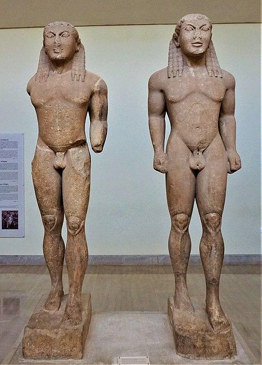 Kleobis and Biton - Delphi Archaeological Museum