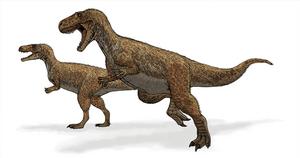 Megalosaurus ('Great Lizard', from Greek, μεγα...