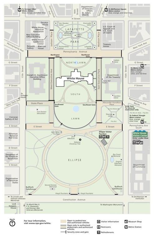 File Nps White House Map Pdf Wikimedia Commons