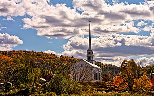 English: Fall in New England.