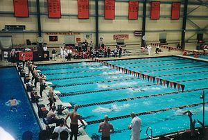 Princeton University pool, Princeton, New Jersey