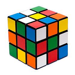 Un cubo de Rubik