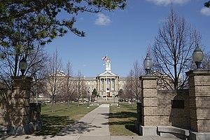 Sherman Hall at Western Illinois University wa...