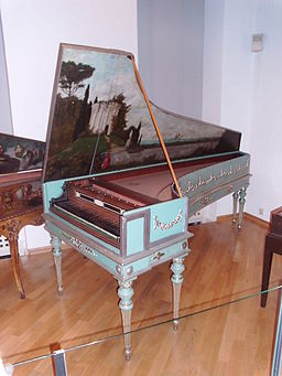 Single-Manual Harpsichord Italy 1783