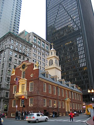 Old State House, Boston, MA, USA