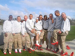 Nine cadets from the Bluegrass Challenge Acade...